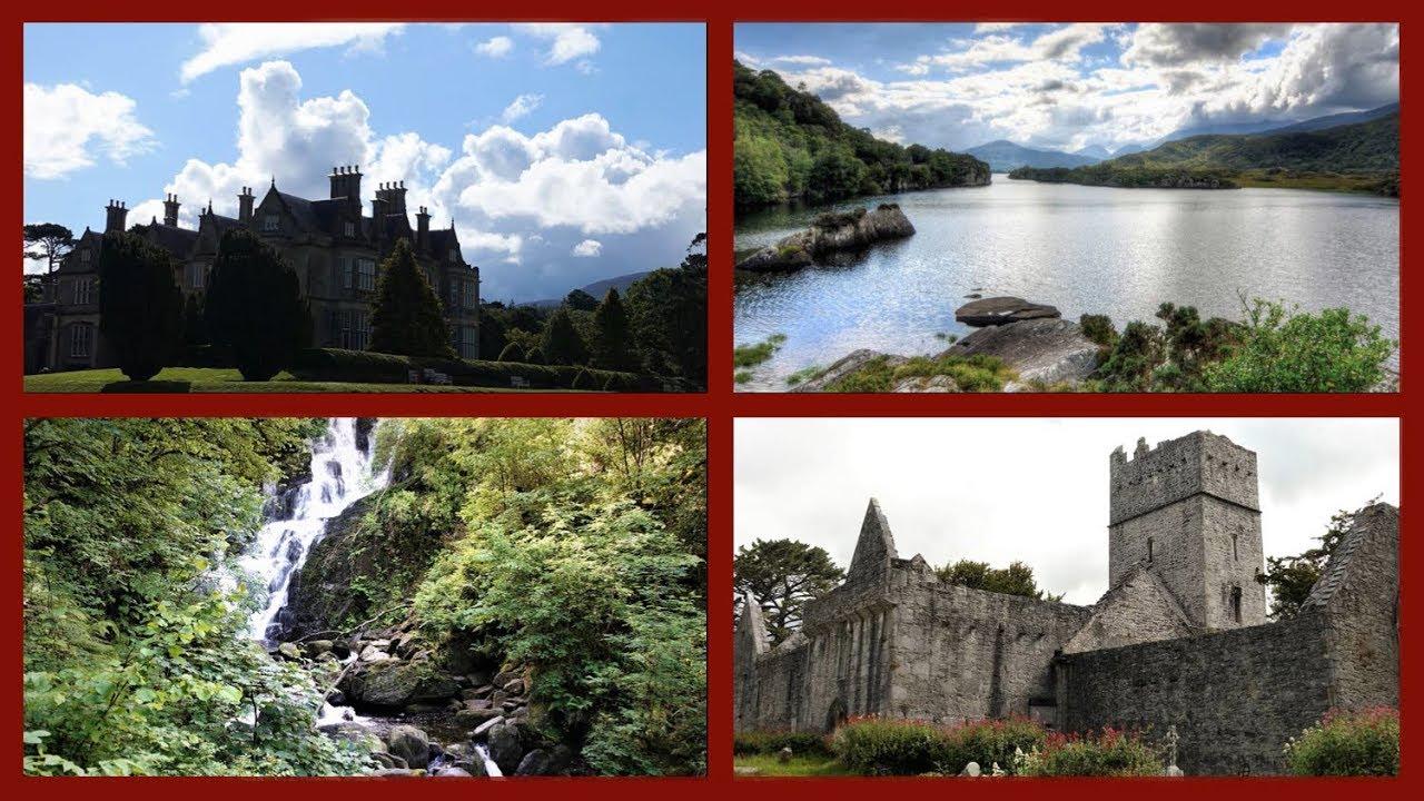 Killarney National Park Irland*Muckross House/-Abbey*Torc Waterfall*Muckross Lake*Lough Leane
