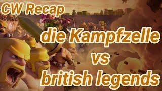 die Kampfzelle vs british legends | war recap | best of | TH 12 | COC clash of clans 03/19