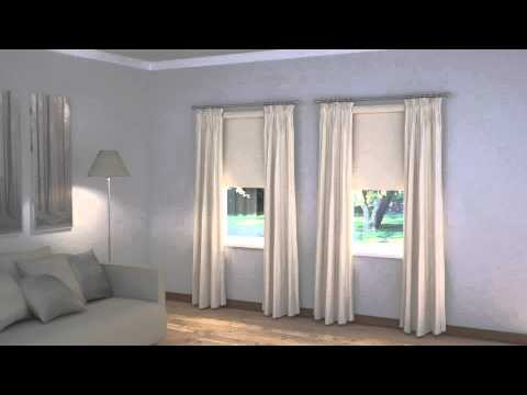 How To Layer Blinds And Curtains