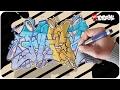 Graffiti Tutorial ★FLER★ Kompletter Style Aufbau