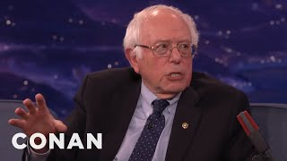 Senator Bernie Sanders Calls Out Republicans Who Make It Harder To Vote  - CONAN on TBS