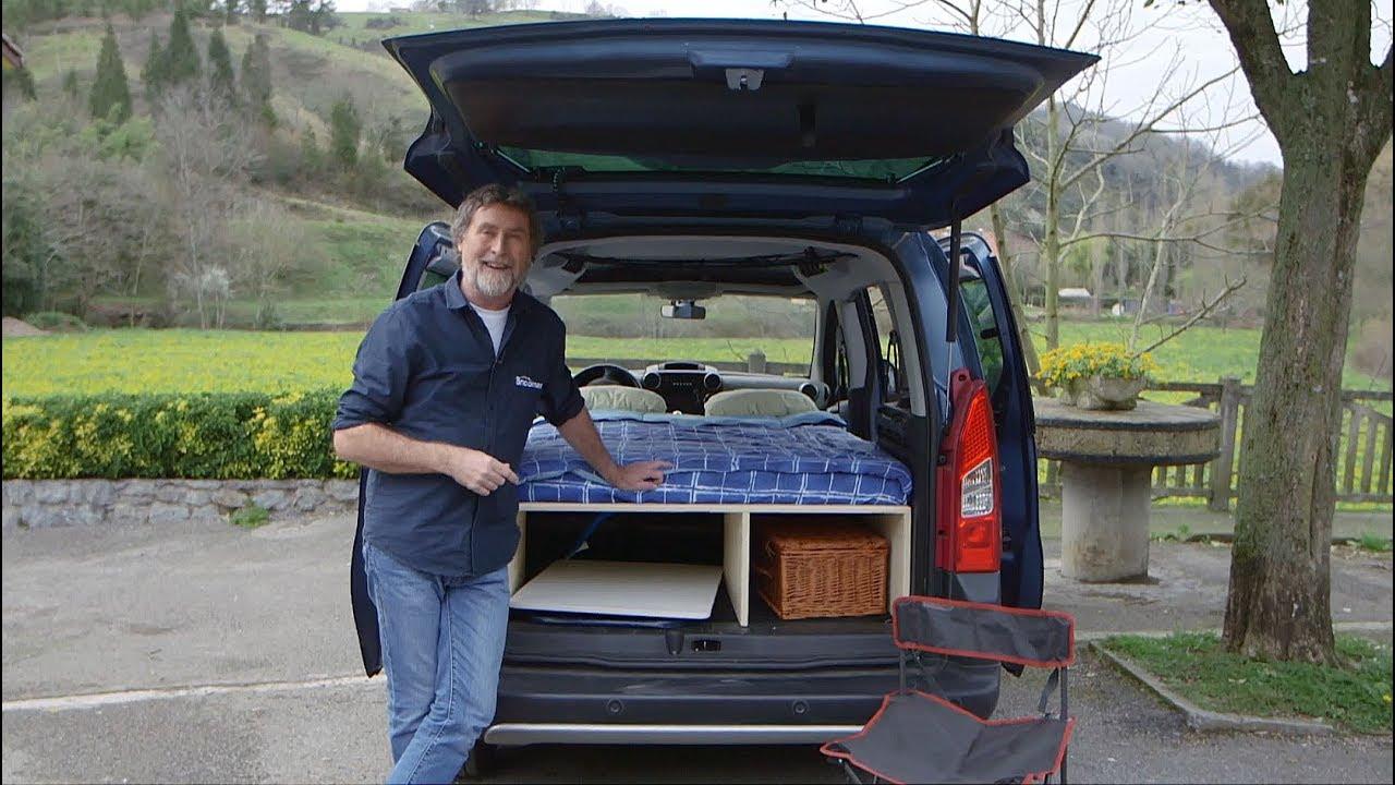 Cmo hacer una cama para una furgoneta camper  Programa