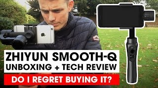 Zhiyun Smooth-Q Unboxing and first Tech Review