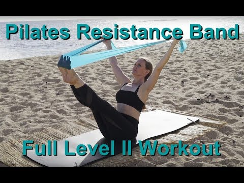 Upside-Down Pilates - Level II Resistance Band Full 1 Hour Workout