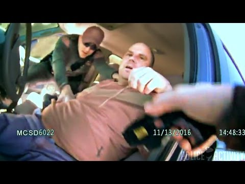 Bodycam Captures Arrest Of Suspected Drunk Driving Lieutenan