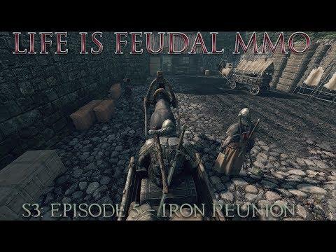 Life is Feudal: MMO - S3| Episode 5: Iron Reunion - Master ⚒Blacksmith (1080p) 60FPS