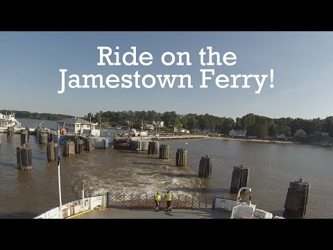 Fun Things To Do: Ride on the Jamestown Ferry!