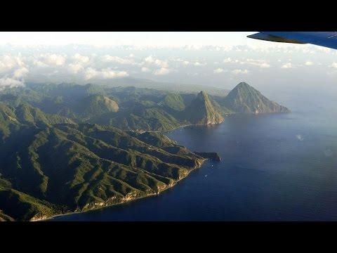 full landing Saint Lucia UVF/29.01.2015 Condor Boeing 767-330ER