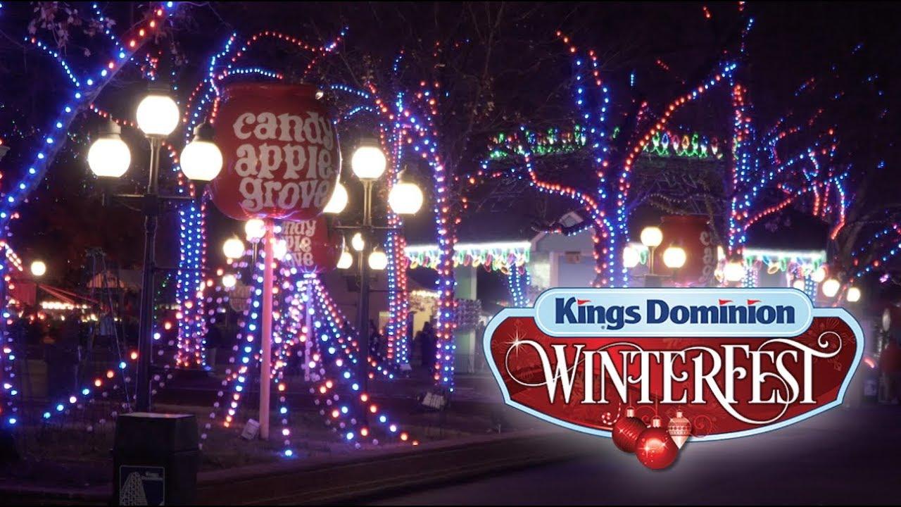 Kings Dominion Winterfest FULL EXPERIENCE 2018 Opening Weekend - YouTube