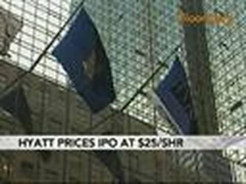Hyatt Hotels IPO Raises $950 Million at $25 a Share: Video