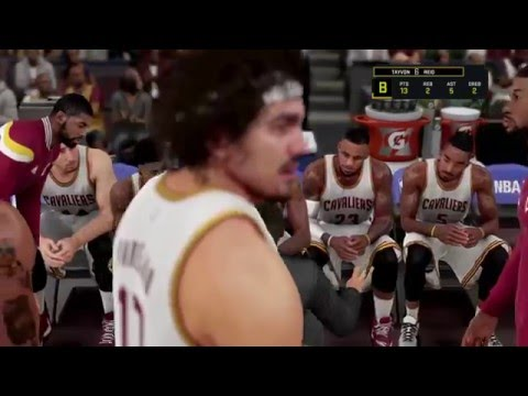 NBA 2k16 My Career - Anderson Varejao On Fire