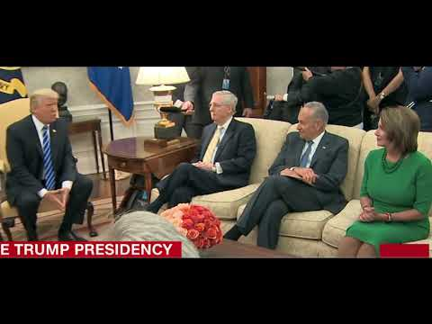 Trump Blackmailed by Schumer, Pelosi, to save Mara Lago from Hurricane Irma