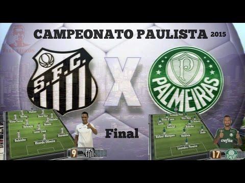 Santos vs Palmeiras - Paulistão 2015 - Final (Decisão)