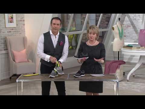 da5a228e7b Vionic Orthotic Mesh Heather Knit Slip-ons - Aviva on QVC - YouTube