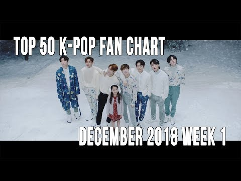 Top 50 K-Pop Songs Chart - December 2018 Week 1 Fan Chart