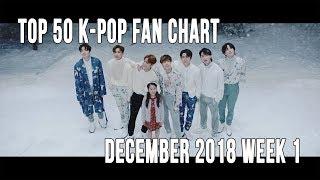 Top 50 K-Pop Songs Chart - December 2018 Week 1 Fan Chart