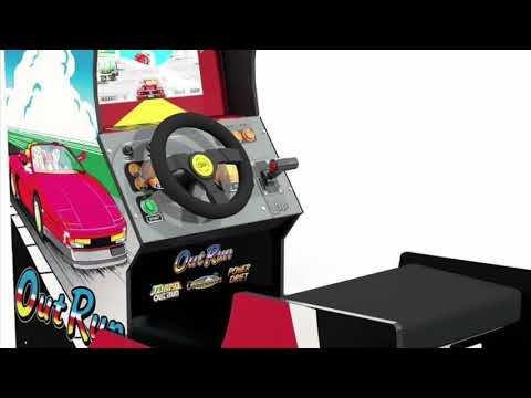 Arcade1Up Outrun Seated Arcade Cabinet 2020 Release from Tim's Tiny Arcade