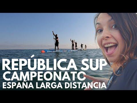 SUP en Alicante con REPUBLICA SUP y próximo Campeonato España SUP Larga Distancia
