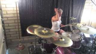 Lindsey Raye Ward - Grace Potter & The Nocturnals - The Lion the Beast the Beat (Drum Cover)