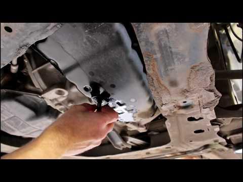 Замена масла и фильтров в вариаторе Nissan Qashqai 2,0 4WD Ниссан Кашкай 2008 года