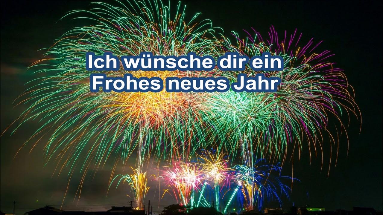 Frohes neues Jahr 2018 Happy New Year 2018 Gruß fürs Handy - YouTube