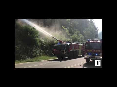 Luxemburg: Großbrand in Hamm