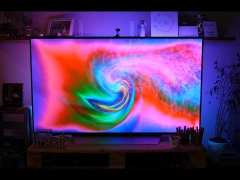 review smart led tv hintergrundbeleuchtung ambilight von minger youtube. Black Bedroom Furniture Sets. Home Design Ideas