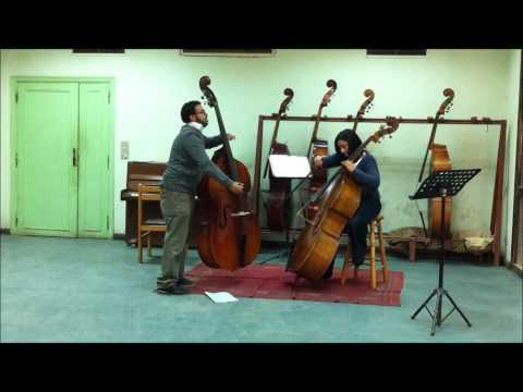 Czardas By Karim Adnan And Samar Talaat  Duett For Double Bass