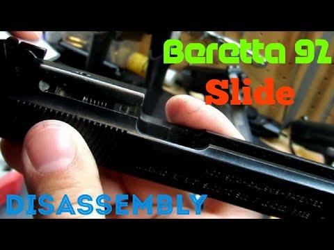 Beretta 92 Slide Disassembly