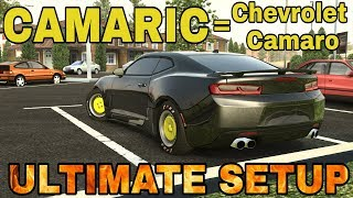Camaric Ultimate Setup + Test Drive! (Chevrolet Camaro) CarX Drift Racing