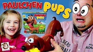 PAULCHEN PUPS - Igitt! Was stinkt hier so?? Unser Dackel hat Blähungen! Aktionsspiel | Goliath Toys thumbnail