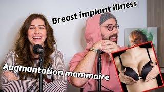 Augmentation mammaire    Cam Grande Brune et Fred Bastien