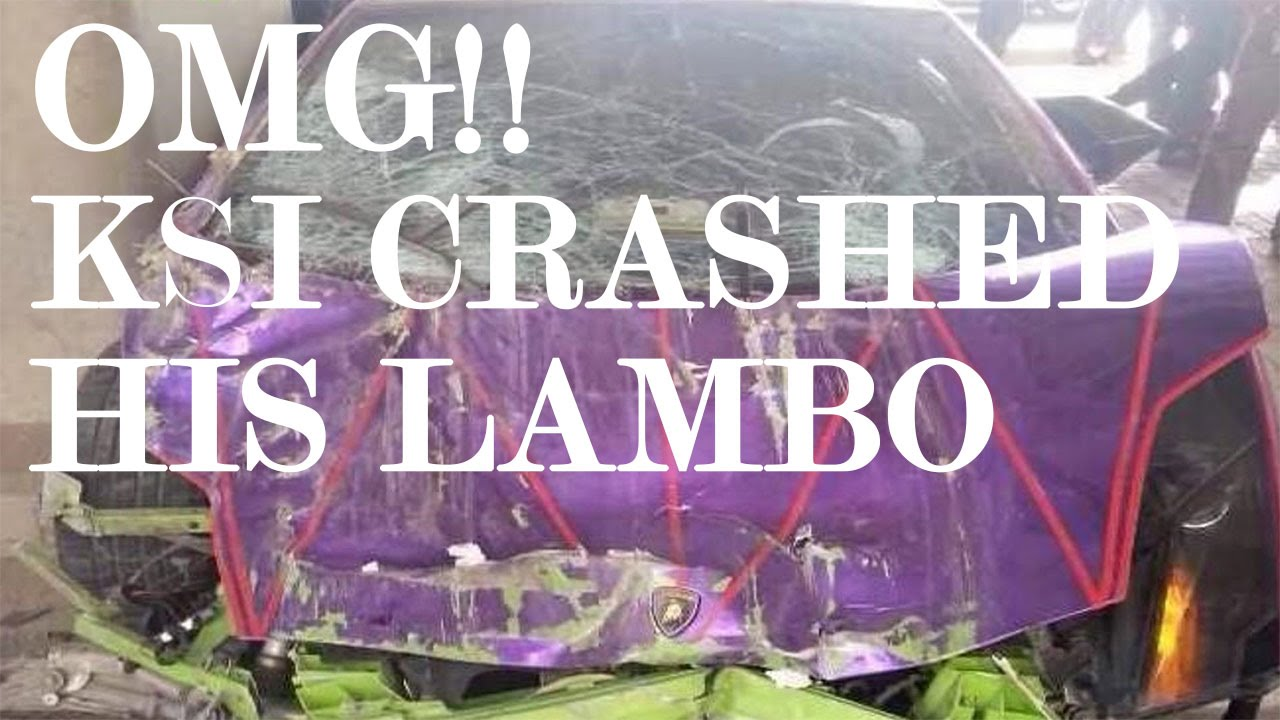 Ksi Crashed His Lambo Dislike Bot As F Youtube