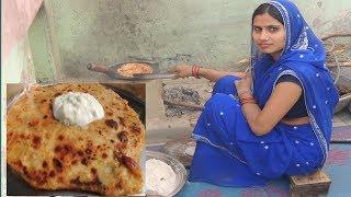 Aloo Paratha 💕 Aloo Paratha Recipe cooking in gradmaa style Punjabi Food