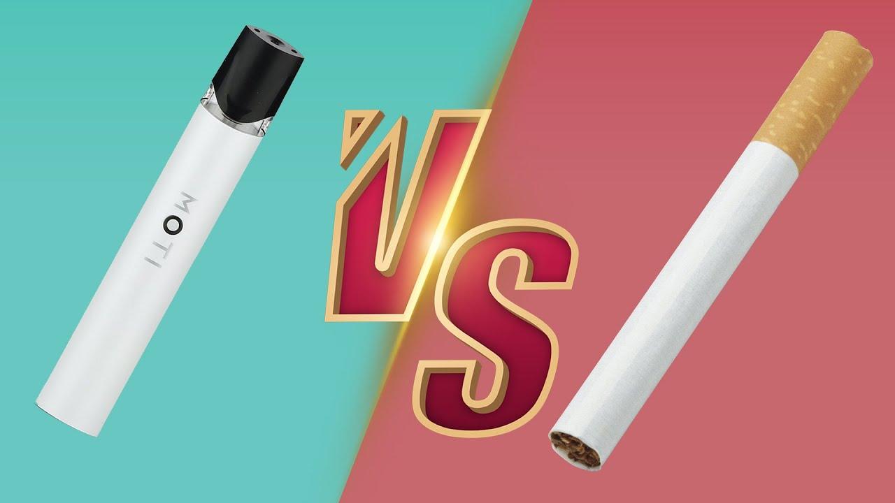 التدخين الاكتروني أم التدخين الكلاسيكي | أنقد نفسك قبل فوات الأوان
