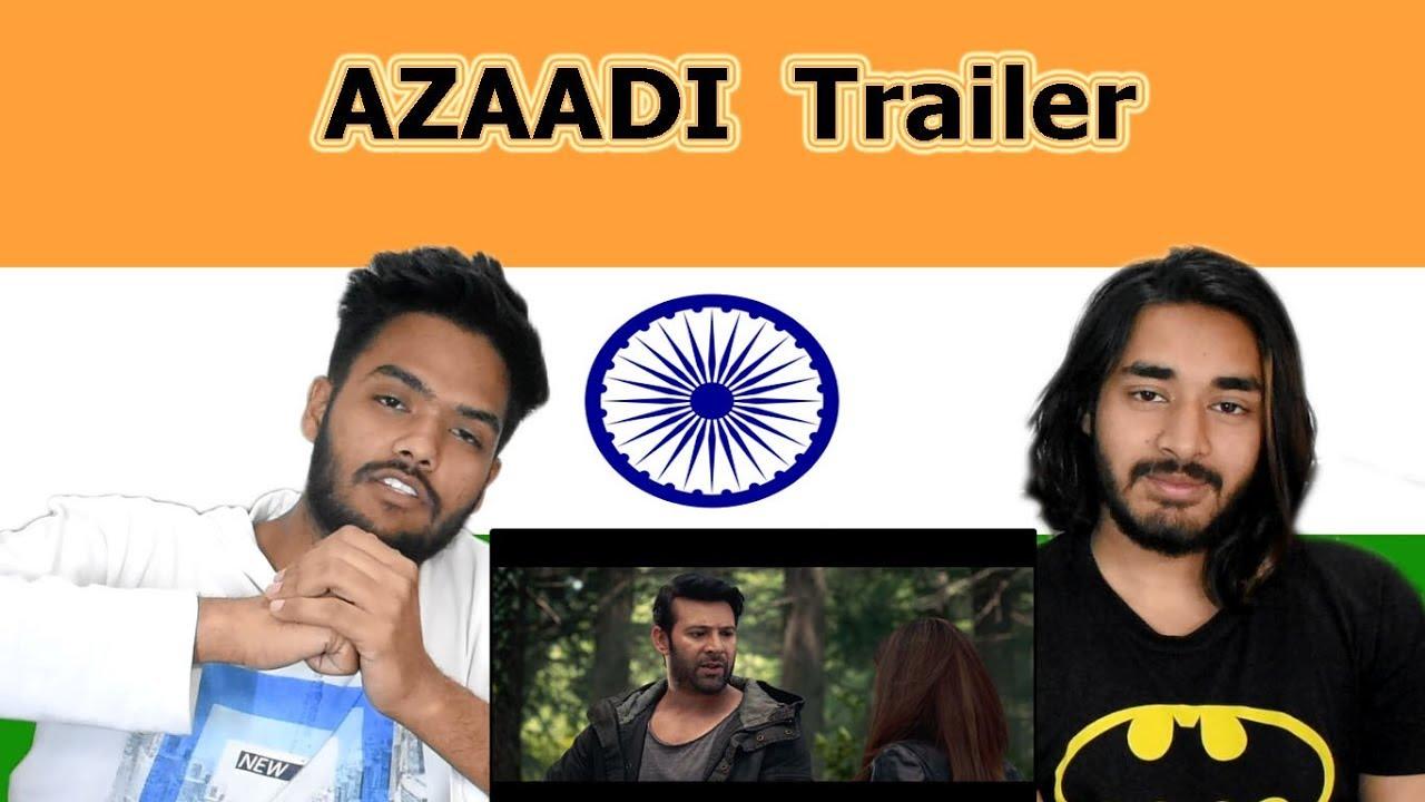 Indian reaction on AZAADI Trailer   Moammar Rana   Sonya