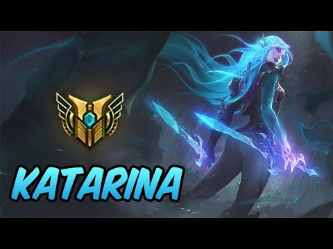 HOW TO PLAY KATARINA  Build & Runes  Diamond Commentary  Death Sworn Katarina  League of Legends
