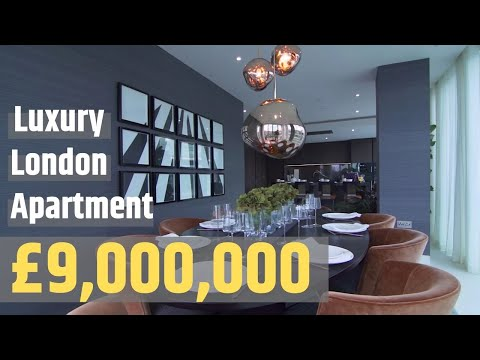 London Luxury Apartment Tour: Inside A £9,000,000 Apartment In London