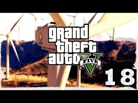Смотреть прохождение игры Grand Theft Auto V. Серия 18 - Смерть присяжных.