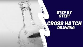 Cross Hatch Drawing