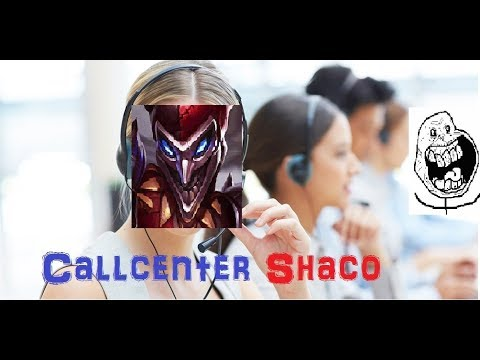 Callcenter Shaco [League of Legends] Full Gameplay - Infernal Shaco