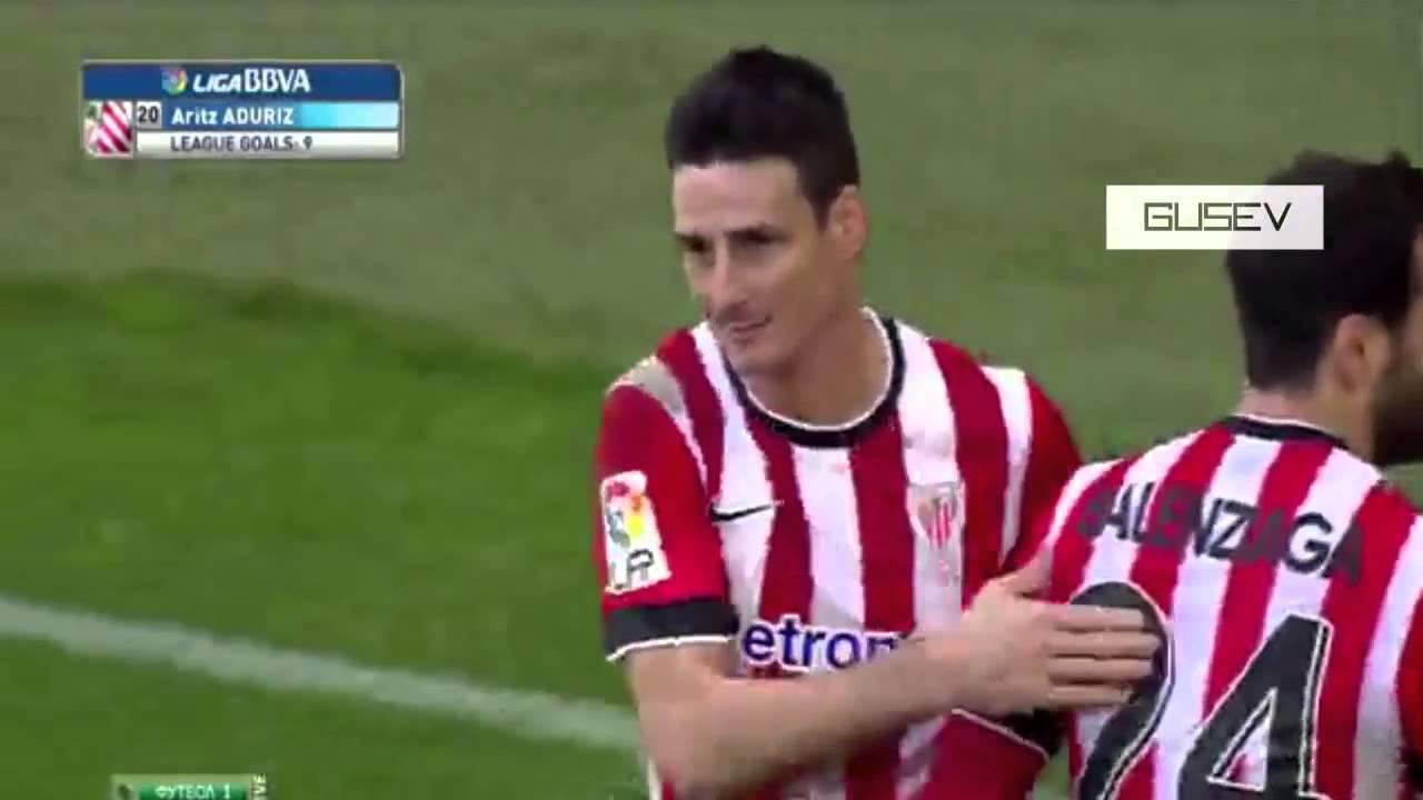 Aritz Aduriz Goal Athletic Bilbao vs Real Madrid 1 0 La Liga 2015