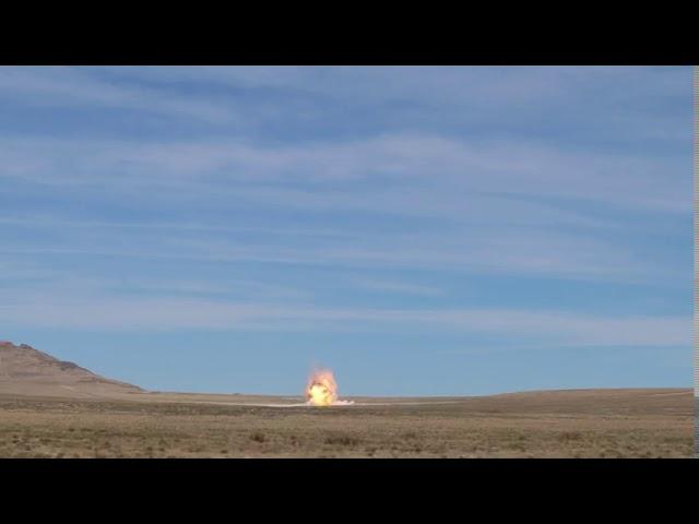Awesome MOAB Detonation Video - Utah Test and Training Range