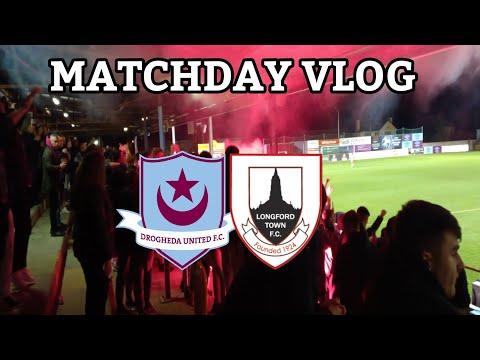 Drogheda United 2-0 Longford Town   Matchday Vlog   HUGE DROGS WIN 🔥  LONGFORD RELEGATED 😔