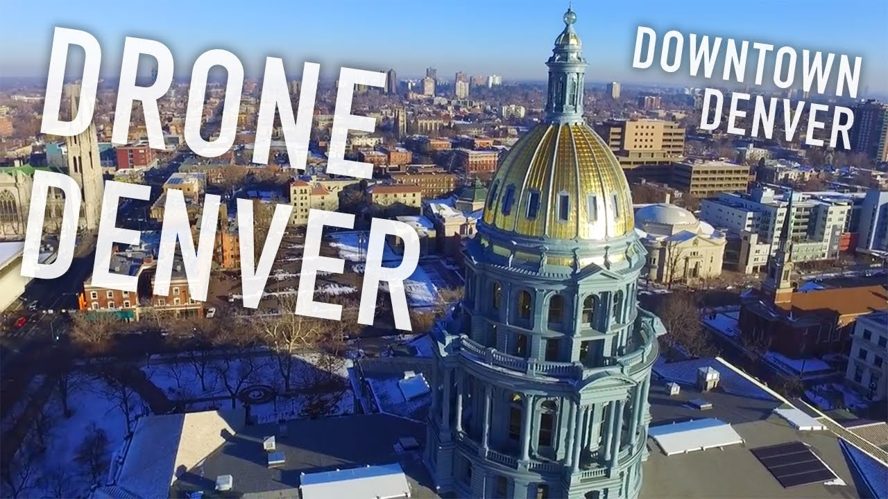 Drone Denver - Downtown Denver Colorado - YouTube