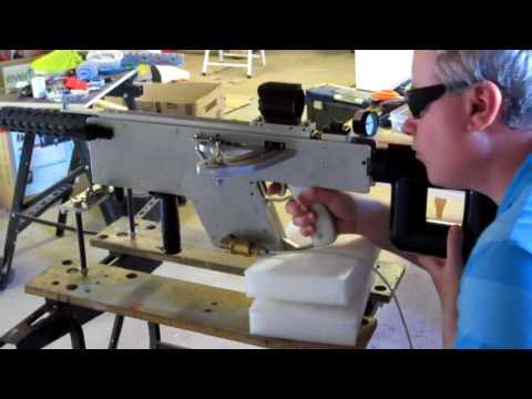 BFG Homemade Semi-auto ball bearing gun