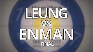 2018 ONT U-18 MEN'S Championship Final - LEUNG vs ENMAN