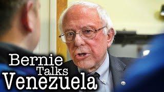 Bernie Sanders Walks a Fine Line on Venezuela, Ends Up Pleasing Nobody