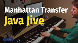 The Manhattan Transfer - Java Jive - Piano Cover