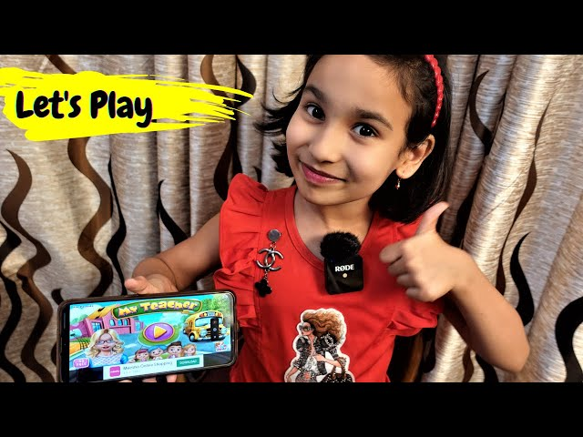 My Teacher - Classroom Play Game / Let's Play / #LearnWithPari